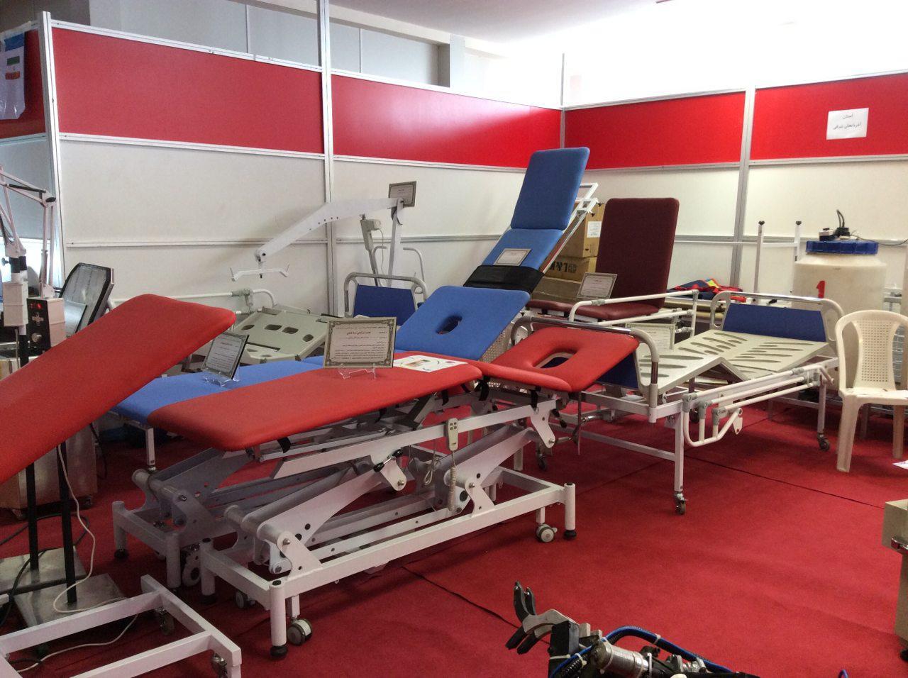 انجمن علمی طراحی صنعتی دانشگاه آزاد، نمایشگاه، تخت بیمارستان